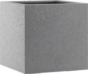 Fiberglas Pflanzkübel Esteras Lisburn Basalt Grey 37cm hoch