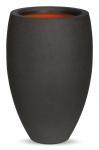 Blumenvase Capi Tutch schwarz