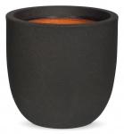 Blumenkübel Capi Tutch schwarz
