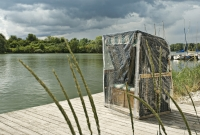 Eigbrecht 142324 Abdeckhaube Gartenmöbel für Strandkorb, 125x90x158cm