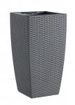 Emsa Casa Mesh Blumenkübel granit 57cm