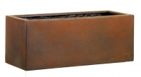 Fiberglas Blumenkasten Esteras Gillingham Rust 57cm lang