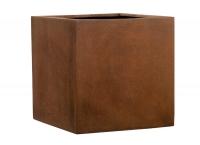 Fiberglas Blumenkübel Esteras Lisburn Rust 57
