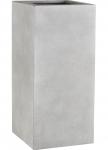 Fiberglas Pflanzkübel Esteras Wells warm concrete 87cm hoch