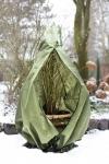 Pflanzen Winterschutz Vlieshaube M olivgrün