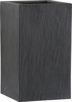 fiberglas pflanzk bel esteras wexford schiefer optik 47cm hoch. Black Bedroom Furniture Sets. Home Design Ideas