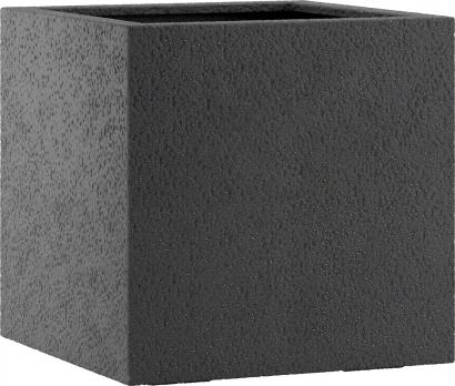 Fiberglas Pflanzkübel Esteras Lisburn Basalt Black 47cm hoch