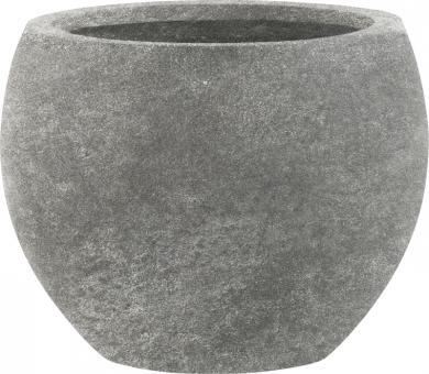 Blumenkübel Esteras Woodley old stone grey 36 cm