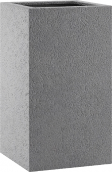 Fiberglas Pflanzkübel Esteras Dundee Basalt Grey 67cm hoch