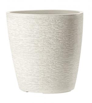 Pflanzkübel Esteras Apiti Creme White 50 cm