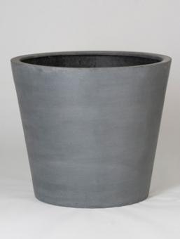 """Fiberstone Pflanzkübel """"Bucket"""" grau 70x60cm"""