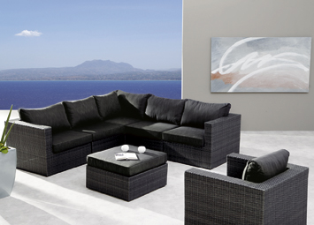 Best Lounge Set Aruba 7-teilig