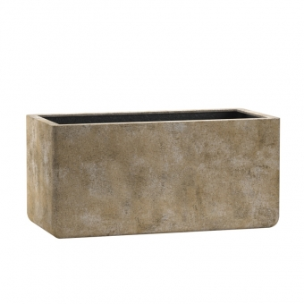 Blumenkasten Esteras Ulster old stone brown 77cm