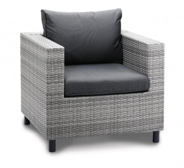 Best Lounge Sessel Bonaire warm grey