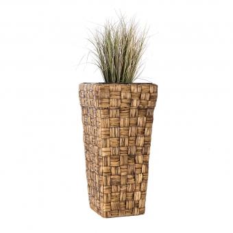 Wasserhyazinthe Blumenkübel Kandal braun CWB 50cm