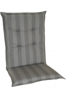 Polsterauflage Sitzaufkissen Classic silber, Dessin 1604