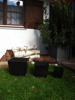 Kunststoffeinsatz Pflanzeinsatz 2er Set 30/20 cm