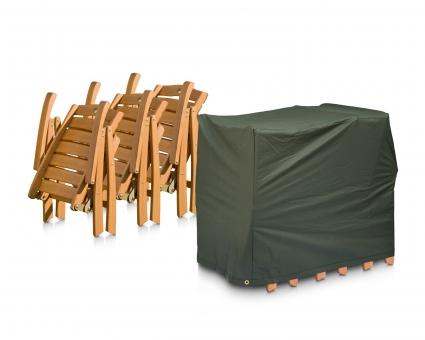 Eigbrecht 146455 Abdeckhaube Schutzhülle für 4 Sessel geklappt 60x90x80cm
