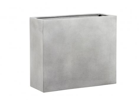 Fiberglas Blumenkasten Esteras Bronley 65er Warm Concrete