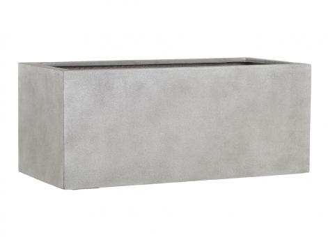Fiberglas Blumenkasten Esteras Gillingham warm concrete 77cm lang