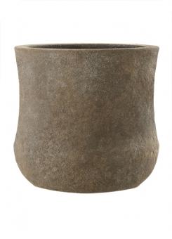 Fiberglas Blumenkübel Esteras Kerry old stone brown 47cm