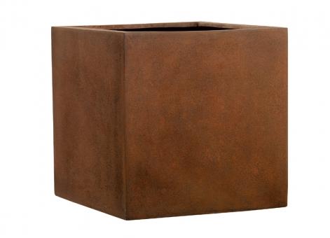 Fiberglas Blumenkübel Esteras Lisburn Rust 37