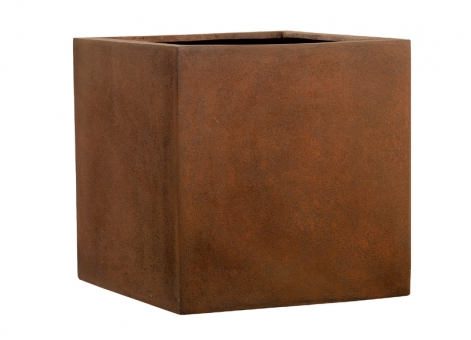 Fiberglas Blumenkübel Esteras Lisburn Rust 27