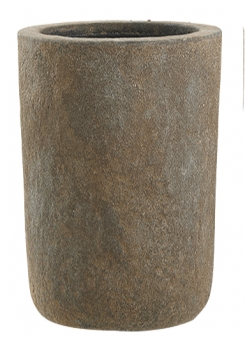 Fiberglas Blumenkübel Esteras Osset old stone brown