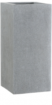 Fiberglas Pflanzkübel Esteras Weert grau 87cm hoch