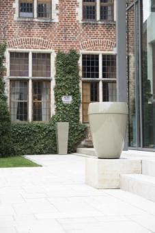 Fiberglas Blumenkübel Sankara Hochglanz 75cm