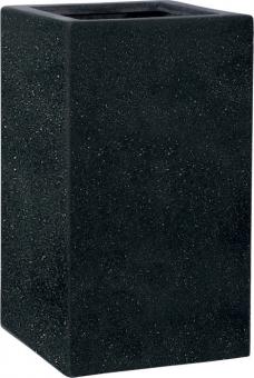 Fiberglas Pflanzkübel Esteras Deventer Black 47cm hoch