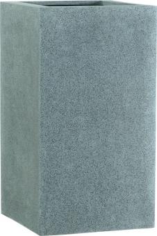 Fiberglas Pflanzkübel Esteras Deventer Grau 47cm hoch
