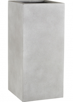 Fiberglas Pflanzkübel Esteras Dundee Warm Concrete 47cm hoch