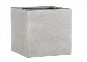 Fiberglas Pflanzkübel Esteras Lisburn Warm Concrete 47cm hoch