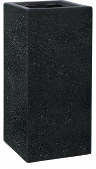 Pflanzkübel Esteras Weert schwarz 87cm hoch