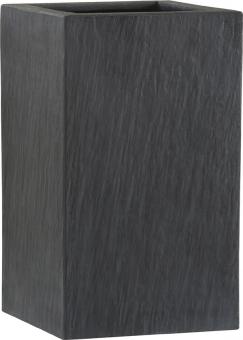 Fiberglas Pflanzkübel Esteras Wexford Schiefer Optik 47cm hoch