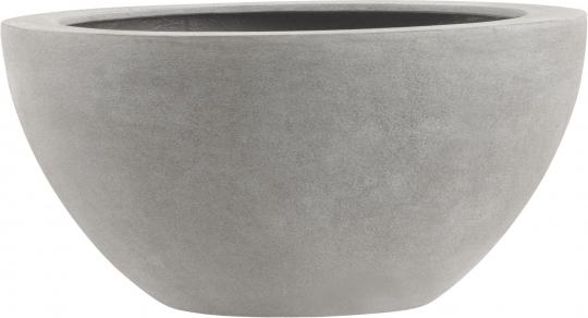 Fiberglas Pflanzschale Esteras Bristol warm concrete D 45cm H 22cm