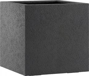 fiberglas pflanzk bel esteras lisburn basalt black 37cm hoch. Black Bedroom Furniture Sets. Home Design Ideas
