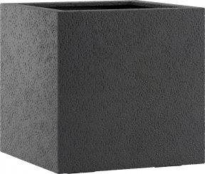 Pflanzkübel Esteras Lisburn Basalt Black 27cm