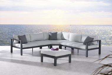Best Lounge Set Valencia 4-teilig