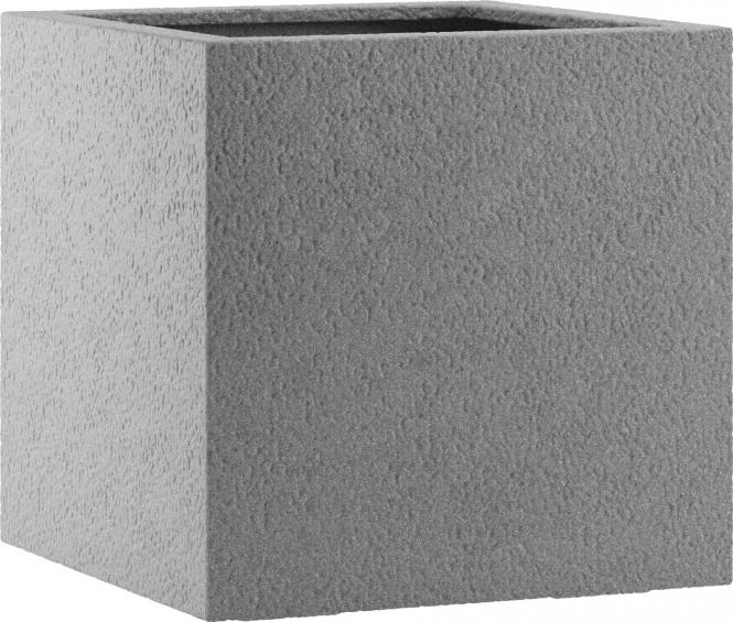 Fiberglas Pflanzkübel Esteras Lisburn Basalt Grey 47cm hoch