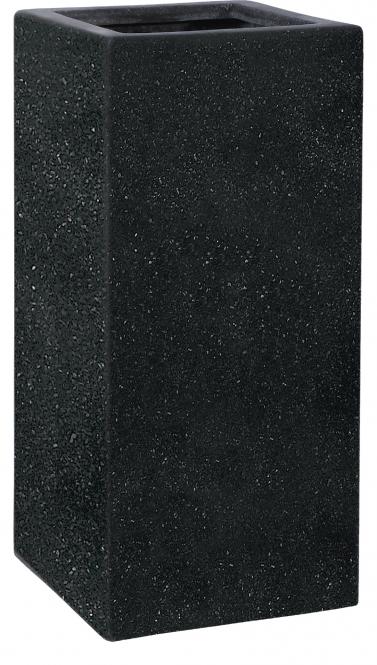 fiberglas pflanzk bel esteras weert schwarz 87cm hoch. Black Bedroom Furniture Sets. Home Design Ideas