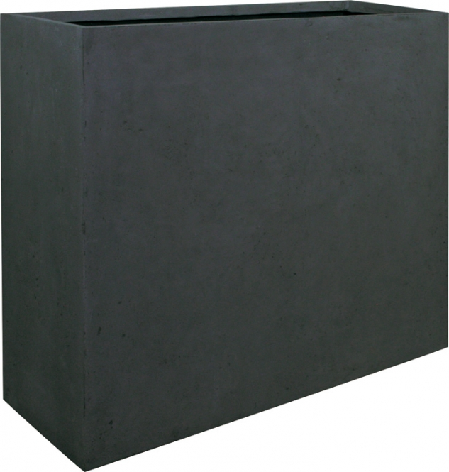 polystone blumenkasten divide anthrazit 80cm hoch. Black Bedroom Furniture Sets. Home Design Ideas