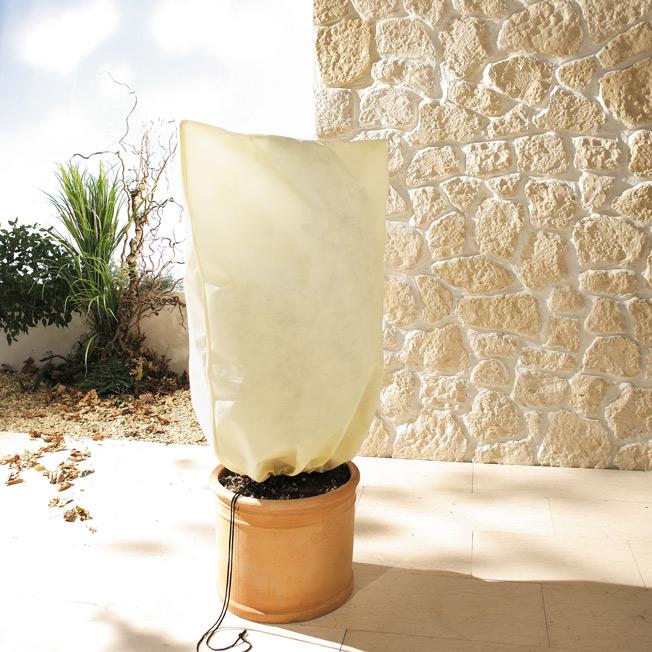 pflanzen winterschutz bio green vlieshaube natur. Black Bedroom Furniture Sets. Home Design Ideas