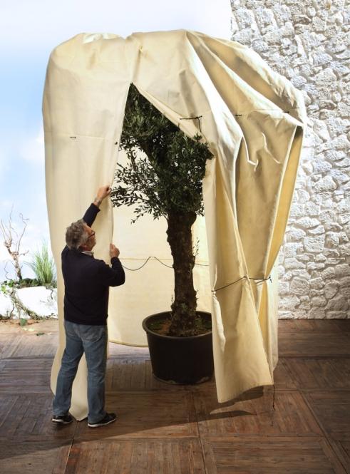 pflanzen winterschutz bio green vlieshaube natur 360x250cm. Black Bedroom Furniture Sets. Home Design Ideas