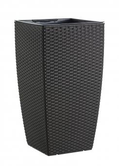 emsa casa mesh blumentopf mokka 66cm. Black Bedroom Furniture Sets. Home Design Ideas