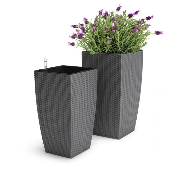 emsa casa mesh blumenk bel granit 57cm. Black Bedroom Furniture Sets. Home Design Ideas