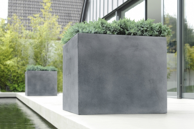 Pflanzkübel Fieberglas - Design