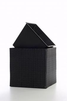 polyrattan blumenk bel java 37cm schwarz. Black Bedroom Furniture Sets. Home Design Ideas