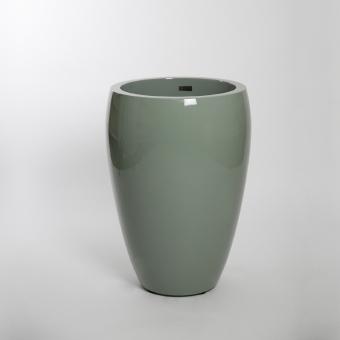 fiberglas pflanzk bel richen hochglanz 75cm. Black Bedroom Furniture Sets. Home Design Ideas